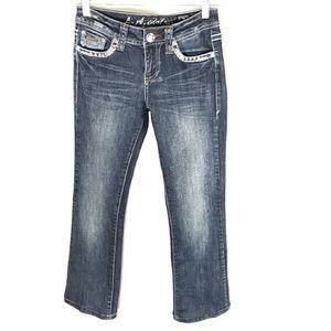 L.A. idol jeans size 3 blue bootcut